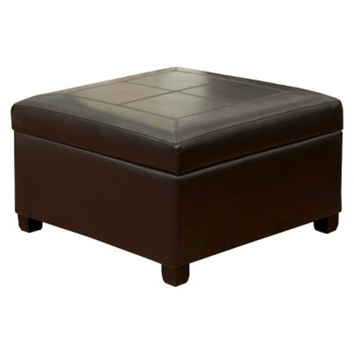 Henry Storage Ottoman Espresso - Christopher Knight Home