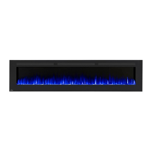 NAPOLEON Allure 100 in. Wall-Mount Electric Fireplace in Black
