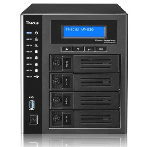 Thecus W4810 4-Bay Tower NAS Enclosure, 60GB SSD, No HDD