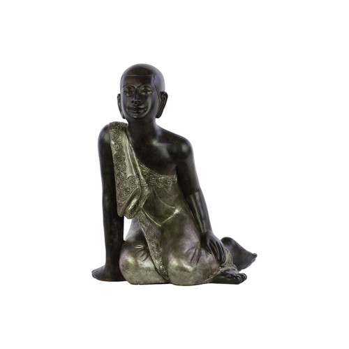 Urban Trends Collection Resin Sitting Buddha Statue