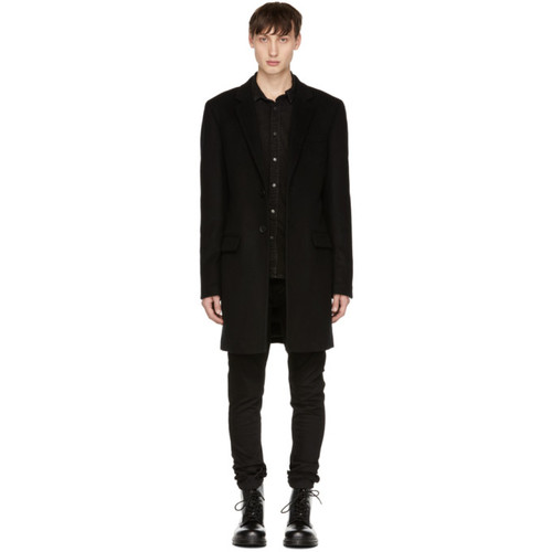 MACKAGE Black Skai Coat