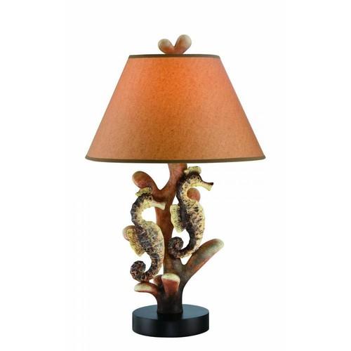 Filament Design 26.5 in. Dark Brown Table Lamp
