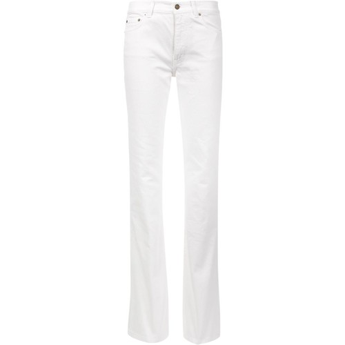 SAINT LAURENT Flared Leg Jeans