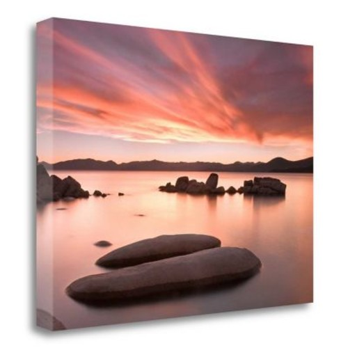 Tangletown Fine Art 'Autumn Sky' Photographic Print on Wrapped Canvas; 24'' H x 32'' W