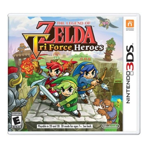 The Legend of Zelda: Tri Force Heroes - Nintendo 3DS - Email Delivery
