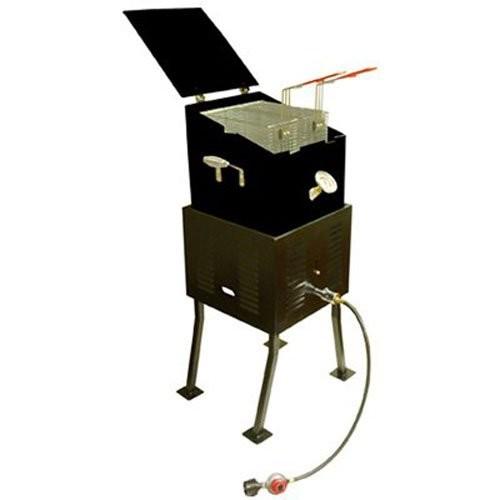 Metal Fusion 2290 Outdoor Propane Cooker, 36-Qt. Steel Fryer, 24,000 BTU [1]