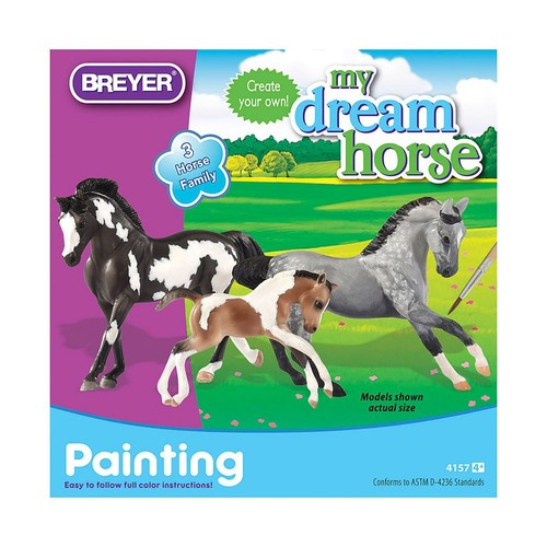 Breyer Stablemates Horse Family Painting Craft Activity Set [Horse Family Painting Kit]