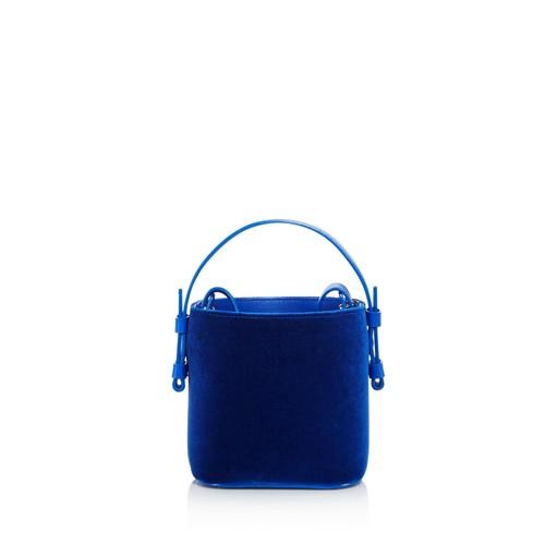 Adenia Velvet Bucket Bag