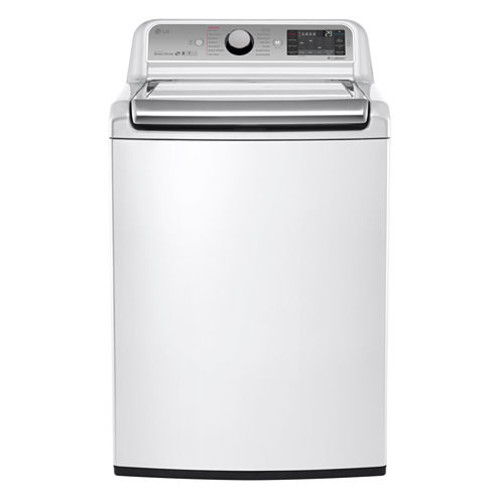 LG WT7500CW ENERGY STAR 5.2 cu.ft. Ultra-Large Capacity Top-Load Washer
