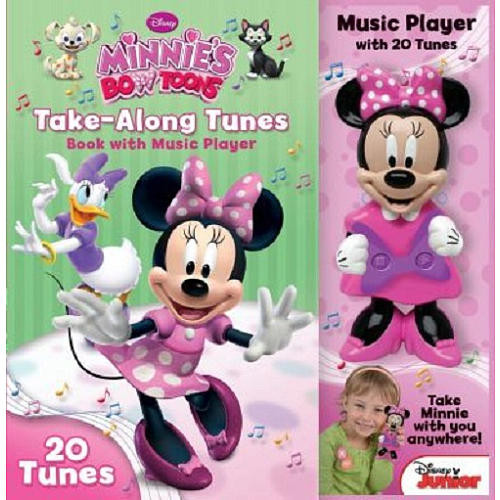 Disney Minnie Mouse Bow-Tique Take-Along Tunes Book with Music Player
