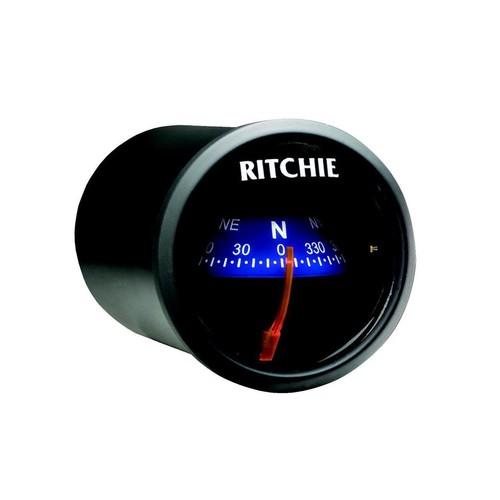 The Amazing Quality Ritchie X-21BU RitchieSport Compass - Dash Mount - Black/Blue - Ritchie