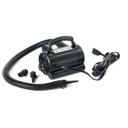 Swimline Electric Inflatables Air Pump with inflator adaptors to fit all inflatable necks