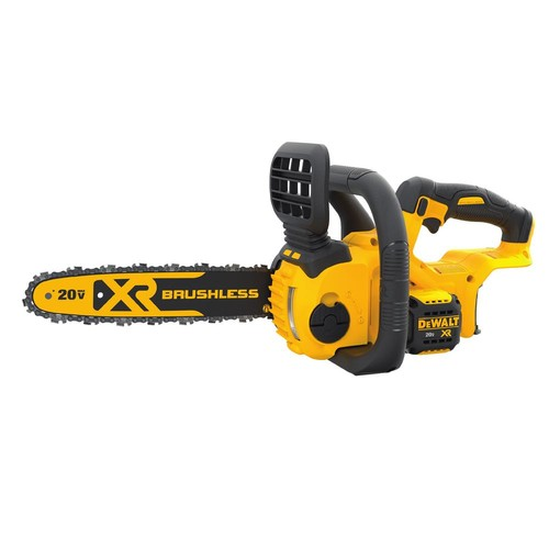 DEWALT 12 in. 20-Volt MAX XR Lithium-Ion Cordless Brushless Chainsaw - Battery and Charger Not Included