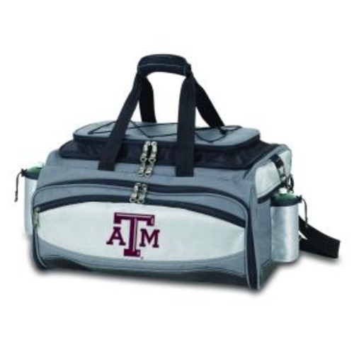 Picnic Time Texas A&M Aggies - Vulcan Portable Propane Grill and Cooler Tote by Digital Logo