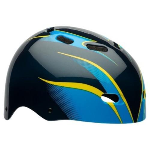 Bell Maniac Child Helmet - Blue/Black