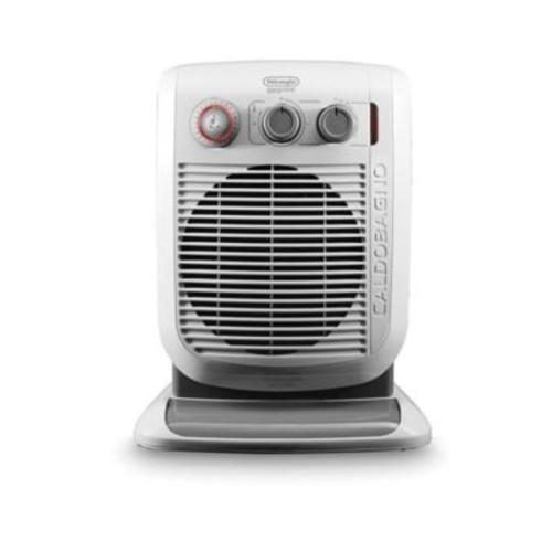 De'Longhi Bathroom Safe Fan Heater in White