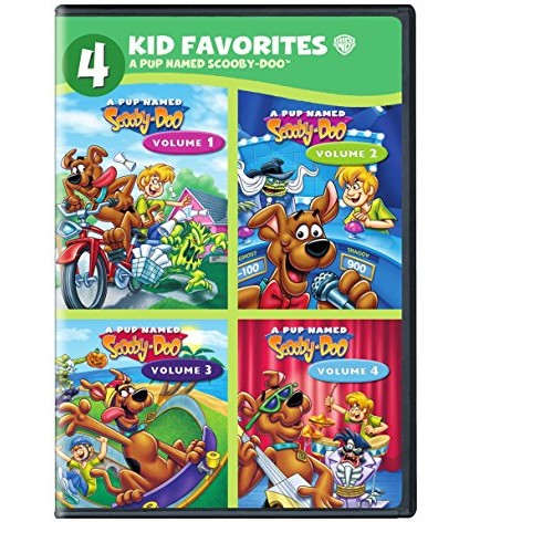 4 Kids Favorites: A Pup Named Scooby-Doo [4 Discs] [DVD]
