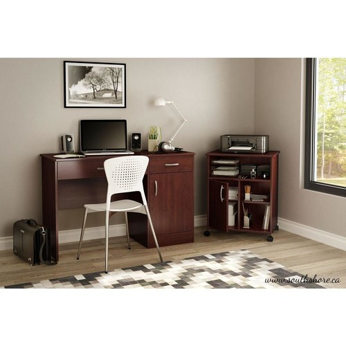South Shore Axess Royall Cherry Printer Stand