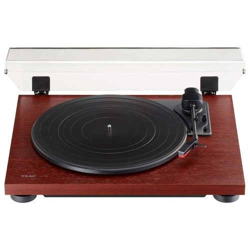 TN-100 Belt-Drive Turntable with Preamp and USB (Cherry)