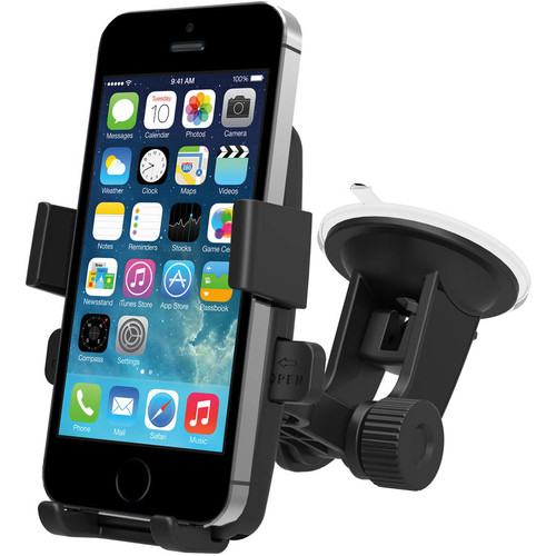 iOttie Easy One Touch Car Mount Holder for iPhone 7s 6s Plus 6s 5s 5c Samsung Galaxy S8 Edge S7 S6 Note 5 [HLCRIO102AP]