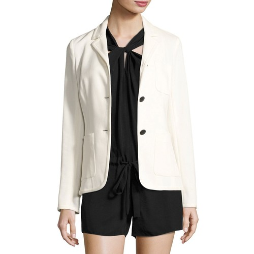 RAG & BONE Redgrave Two-Button Blazer, Cream