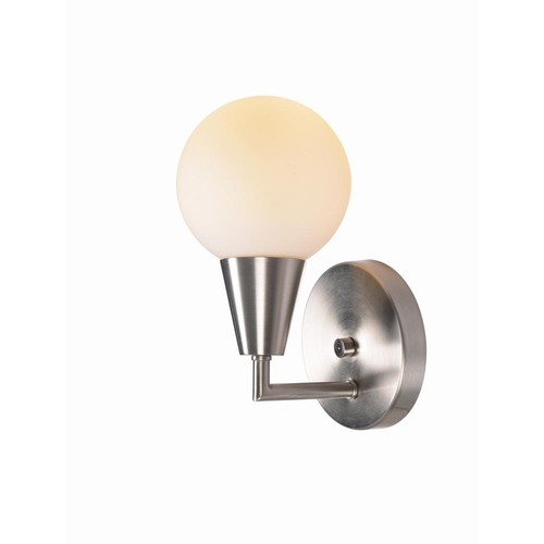 Kenroy Home Vaughn 1 Light Brushed Steel Sconce