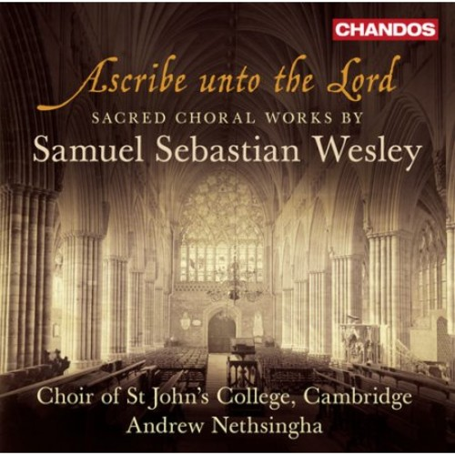Wesley:ascribe Unto The Lord Sacred C CD (2013)