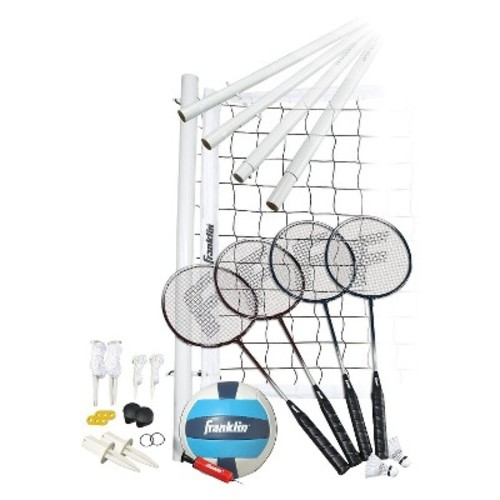 Franklin Sports Advance Badminton/ Volleyball Set