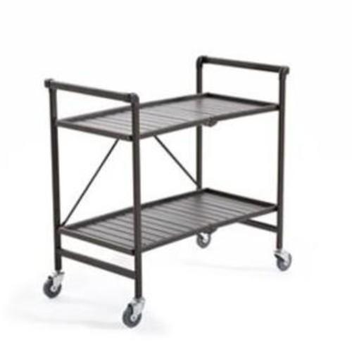 Cosco Smartfold Folding Serving Cart 87501SBDE