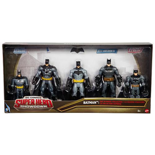 DC Comics Super Hero Showdown 5 Pack Multiverse Action Figure - Batman