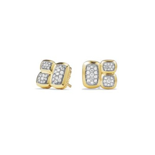 Confetti Earrings with Diamonds in G