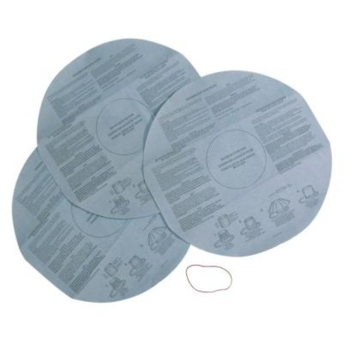 Multi-Fit Disposable Filter for Shop-Vac and Genie Wet Dry Vacs (3-Pack)