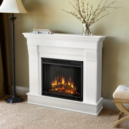 Real Flame - Chateau Electric Fireplace-White