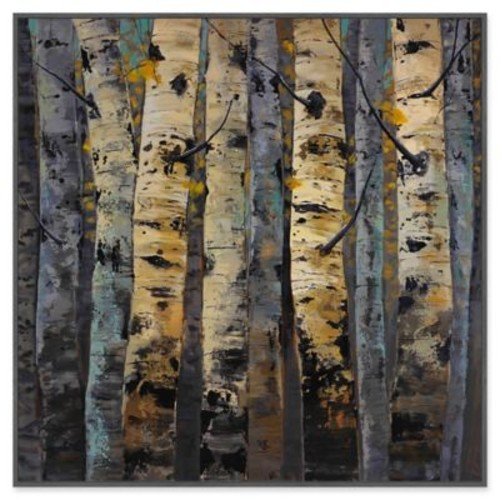Marmont Hill Gold Infusion II 16-Inch sq. Framed Canvas Wall Art