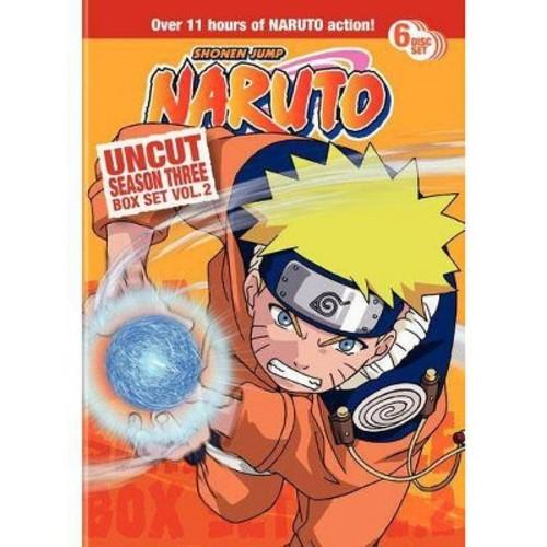 Naruto Uncut Box Set: Season 3, Vol. 2 [6 Discs] [DVD]