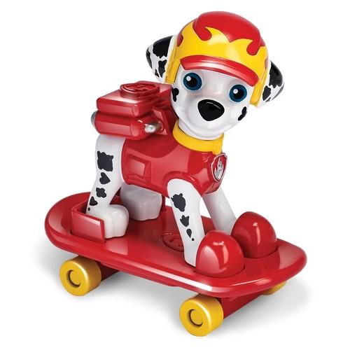 Paw Patrol Hero Pup Skateboard Marshall Figure