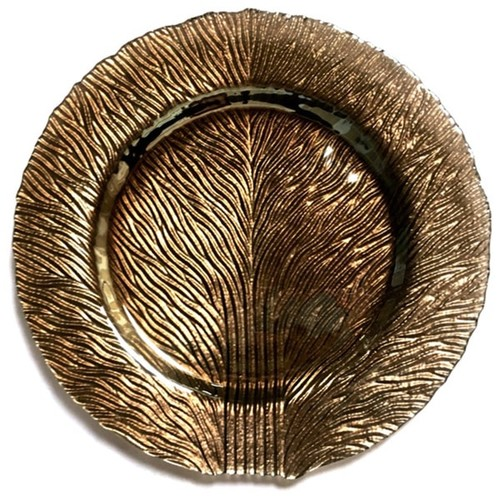 Tree of Life Platinum Plate with Luster