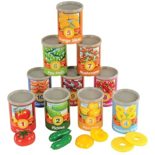 Learning Resources Learning & Educational Toys 1-10 Counting Cans