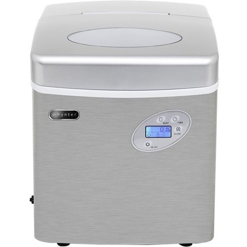 Whynter IMC-490SS Stainless Steel Ice Maker Portable Freestanding Ice