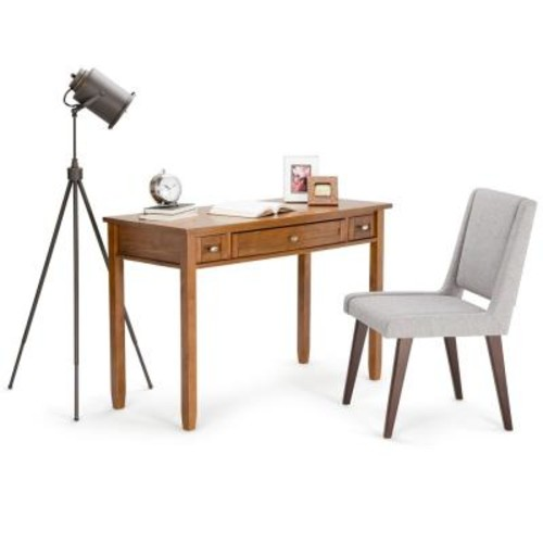 Simpli Home Honey Brown Desk