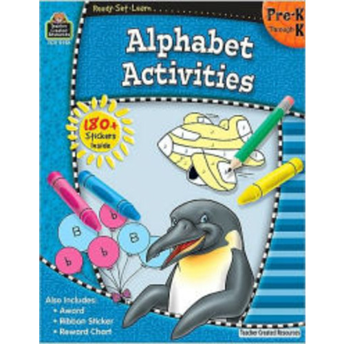 Alphabet Activities: Pre K