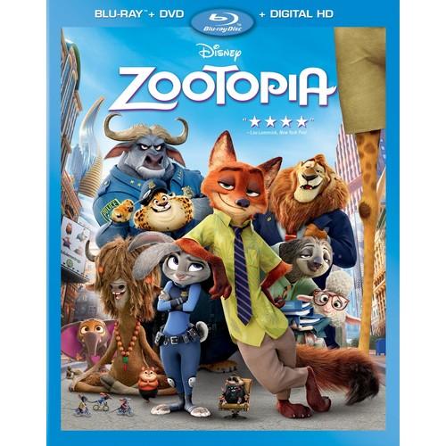Disney Zootopia (Blu-ray / DVD / Digital HD)