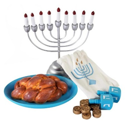 The Queen's Treasures Hanukkah Playset for 18 inch Doll
