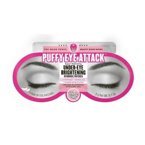 Soap & Glory Puffy Eye Attack Under-Eye Brightening Hydrogel Patches - .1oz