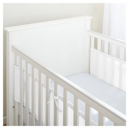 BreathableBaby Mesh Crib Liner - Solid