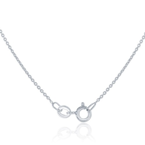 La Preciosa Sterling Silver Double-Strand Open Circle Necklace