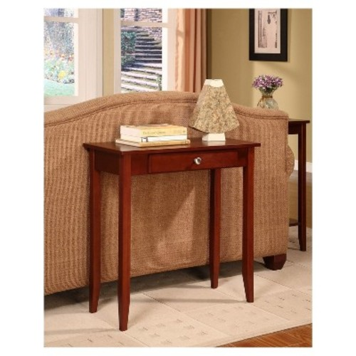 Rosewood Console Table - Coffee - Dorel Home Products