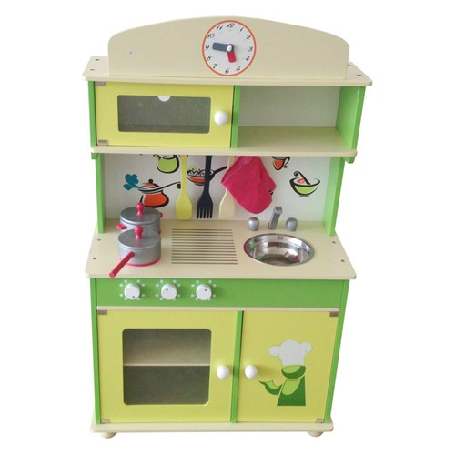 Berry Toys My Cute Green Wooden Play Kitchen