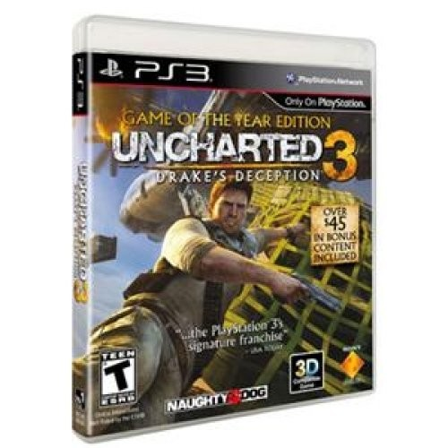 Uncharted 3: Drake's Deception - Game of the Year Edition - Playstation 3 [Disc, Standard, PlayStation 3]
