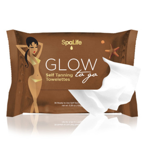 TanTowel Self-Tan Towelette Half Body Application (Pack of 10)